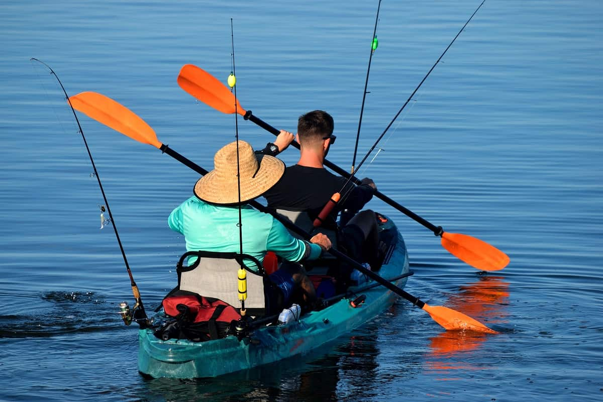 Best Tandem Fishing Kayak - wildlifechase.com